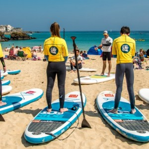 SUP Porthminster beach - for surf school body